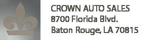 Crown Auto Sales, Baton Rouge